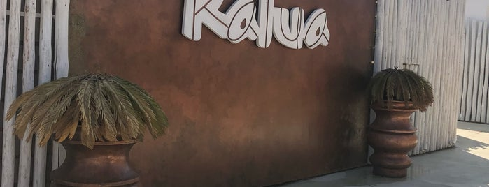 Kalua is one of Santorini.