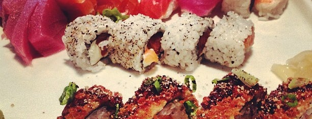 Toshi sushibar is one of Gespeicherte Orte von Andre.