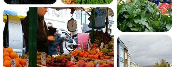 Notting Hill Farmers' Market is one of London Markets.