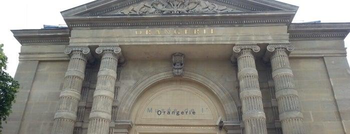 Музей Оранжери is one of 🌠.