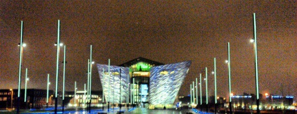Titanic Belfast is one of Mark's list of Ireland.