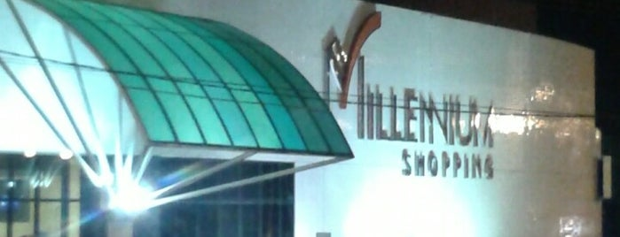 Millennium Shopping is one of Shoppings Norte Brasil.