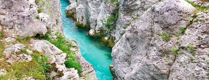 Great Soca Gorge is one of Slovénie.