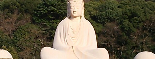 Ryozen Kannon is one of Japan.