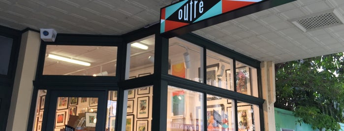 Outré Gallery is one of speciality-ness.....