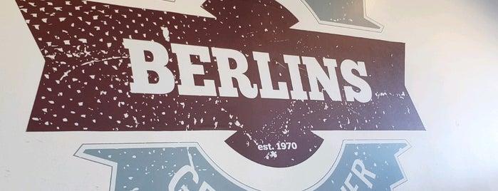 BERLINS is one of สถานที่ที่บันทึกไว้ของ Justin.