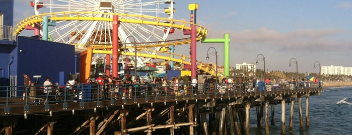 Santa Monica Pier is one of For Casey.