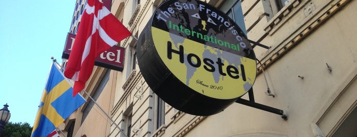 San Francisco International Hostel is one of SFO.