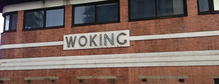 Woking Railway Station (WOK) is one of You calling me a train spotter?.