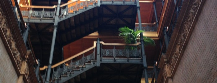 Bradbury Building is one of 87 Free Things To Do in LA.