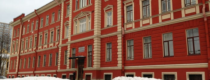 Клиника офтальмологии ВМА is one of Tempat yang Disukai Диана.