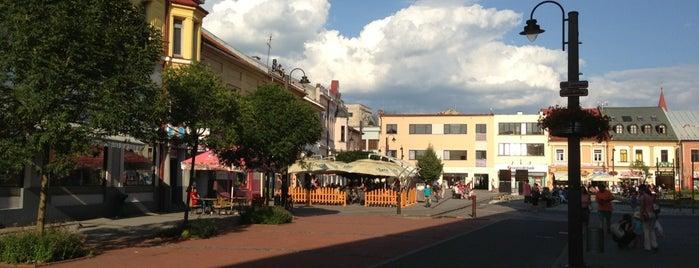 Liptovský Mikuláš is one of Cities I've been.