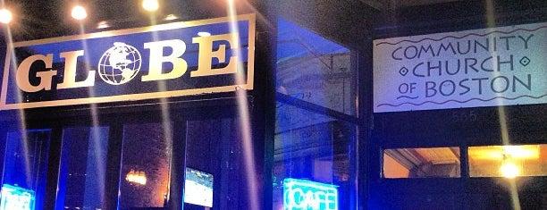 Globe Bar & Cafe is one of Restuarants.