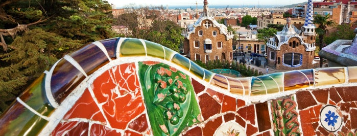 Park Güell is one of Visit Barcelona.