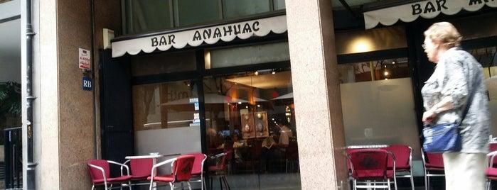 Bar Anahuac is one of Barcelona 2.