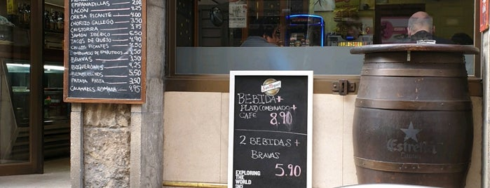 Ribeira is one of Barcelona.