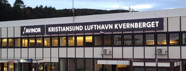 Kristiansund Lufthavn, Kvernberget (KSU) is one of Airports Worldwide....