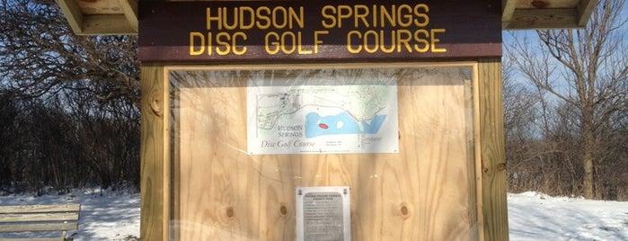 Hudson Springs Disc Golf Course is one of Top Picks for Disc Golf Courses 2.
