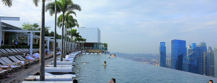 Marina Bay Sands Hotel is one of In the Future.