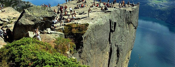 Preikestolen is one of World Heritage Sites List.