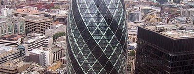 30 St Mary Axe is one of In the Future.