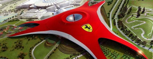 Ferrari World Abu Dhabi is one of In the Future.