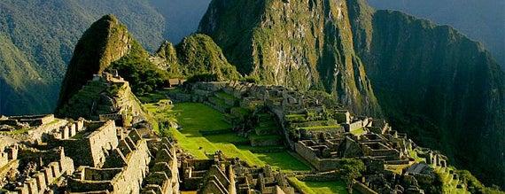 Machu Picchu is one of Просто удивительно!!!  Вы знаете, что....