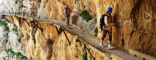 El Caminito del Rey is one of Malaga, Spain.