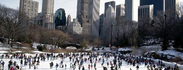 Wollman Rink is one of Pretend I'm a tourist...NYC.