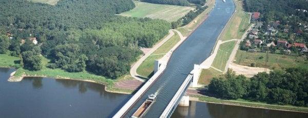 Kanalbrücke Magdeburg is one of Просто удивительно!!!  Вы знаете, что....
