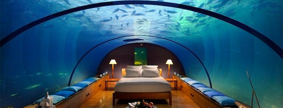 Conrad Maldives Rangali Island is one of In the Future.