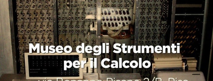 Museo degli Strumenti per il Calcolo is one of #InvasioniDigitali in Toscana 2013.