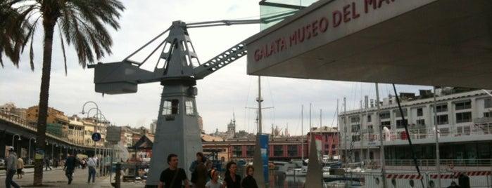 Galata Museo del Mare is one of #invasionidigitali 2013.