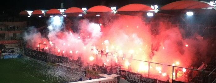 Γήπεδο Θεόδωρος Βαρδινογιάννης is one of Part 3~International Sporting Venues....