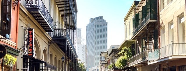 Royal Street is one of New Orleans.