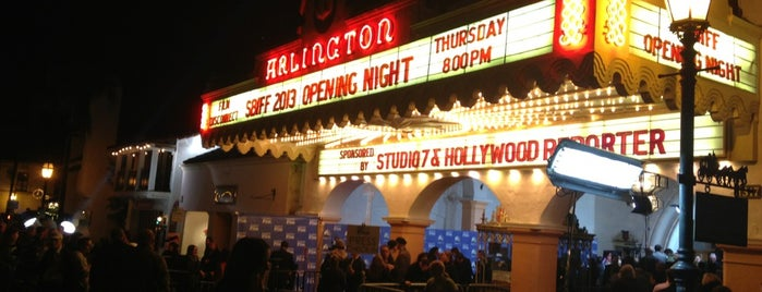 The Arlington Theatre is one of Santa Barbara.