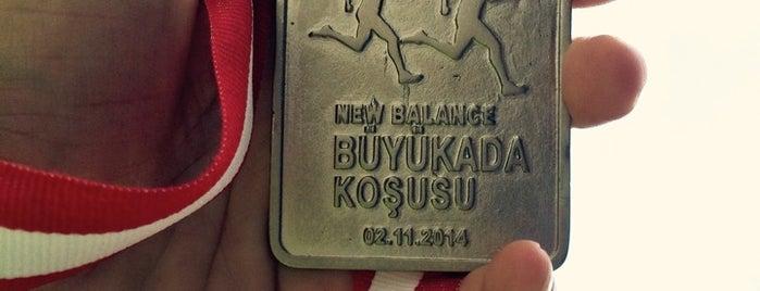 New Balance Büyükada Koşusu is one of Lieux qui ont plu à Bike.