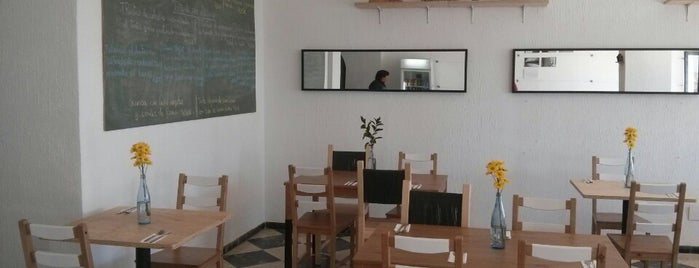 Pereza Ramona food studio is one of Málaga barrio.