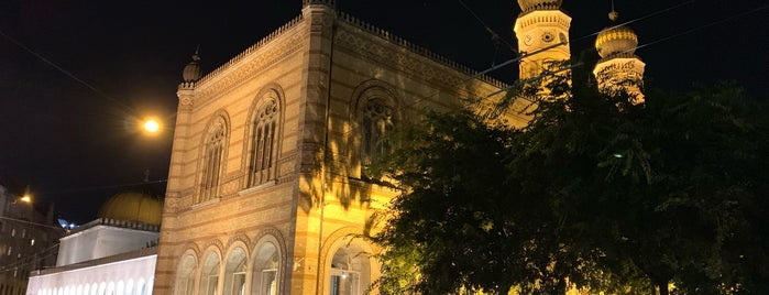 Rumbach Street Synagogue is one of BP.