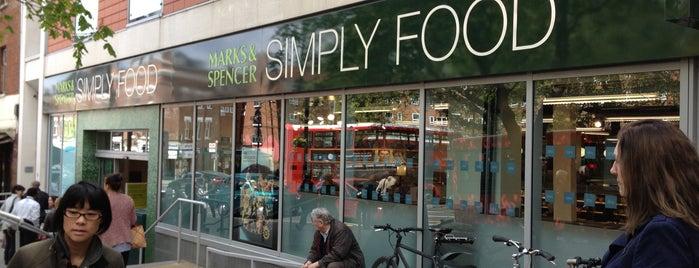 M&S Simply Food is one of Mart : понравившиеся места.