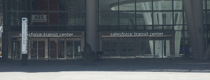 Salesforce Transit Center is one of SF Bay Area - been there I.