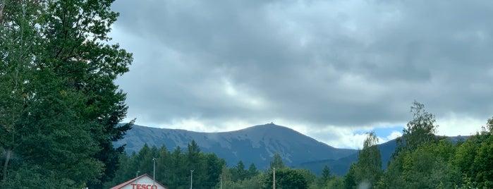 Karpacz is one of Riesengebirge.