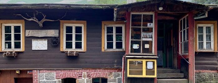 Schronisko Nad Łomniczką is one of Riesengebirge.