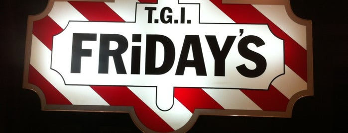 T.G.I. Friday's is one of Orte, die Евгений gefallen.