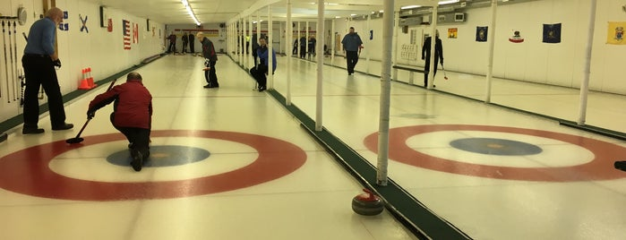 Merrimack Valley Curling Club is one of Posti che sono piaciuti a Kevin.