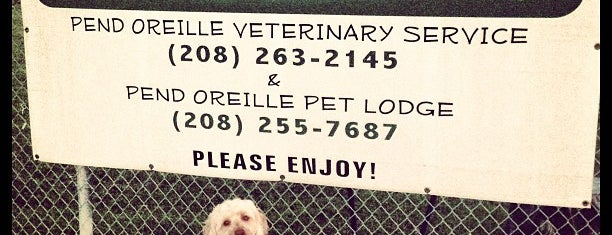 Pend Oreille Veterinary Service is one of Dog Parks.