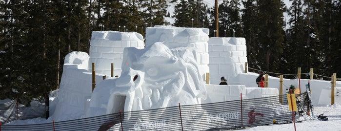 Kidtopia SnowFort is one of Winter Family Activities at Keystone!.