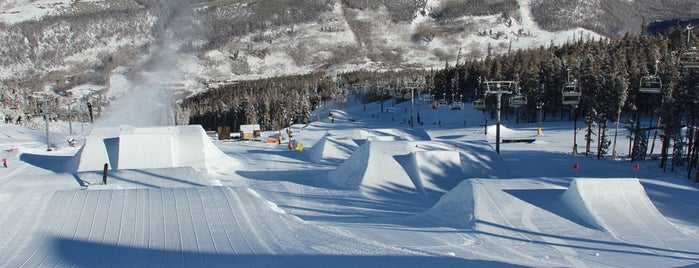 A51 Terrain Park is one of Winter Family Activities at Keystone!.