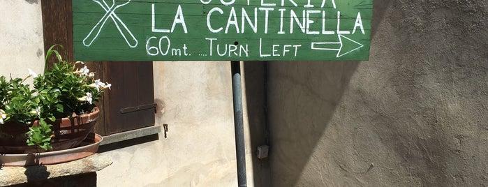 Osteria la Cantinella is one of Orte, die Geert gefallen.