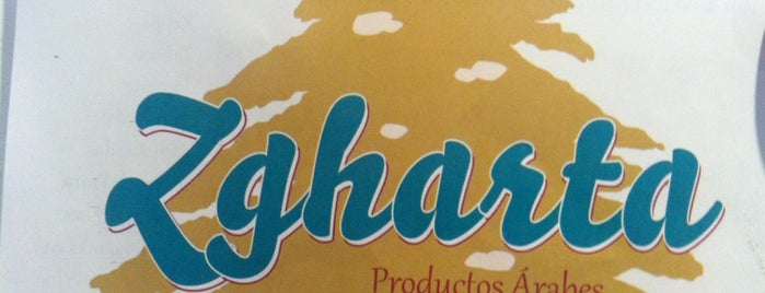 """""""Zgharta"""" (Productos Árabes) is one of Benoさんのお気に入りスポット."""